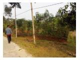 Tanah 1200m Tapos, Depok