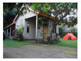 Rumah Kebun 6 x 12 m dan camping ground