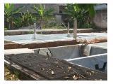 Dijual tanah daerah Jombang Sudimara, & ada kolam utk ternak lele