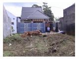 Tanah Sudah diapit rumah samping dan depan