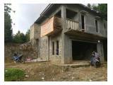 Dijual tanah beserta bangunan dekat air terjun bidadari SENTUL