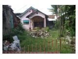 JUAL TANAH STRATEGIS dengan bangunan rumah Pinggir Jalan Raya