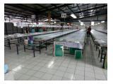 Dijual Cepat Tanah + Pabrik  Citra Raya Strategis , SHM IJIN LENGKAP - LUAS 2200 M2