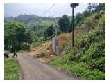 Dijual Tanah Luas 4561 m2 di daerah Gunung Geulis, Bogor, Sertifikat Hak Milik.