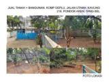 Jual Tanah di Kompleks Deplu Pondok Aren