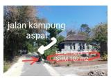 Dijual Tanah Kavling 107 m2 di Jl. Kampung Boyolali Solo Sertifikat SHM