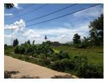 Dijual tanah di Tigaraksa