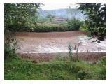 Jual Murah Kolam Ikan + Tanah Produktif di Parung Bogor - Luas 1817 m2 - AJB